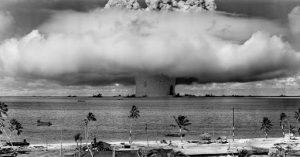 Paises que tem bomba atômica