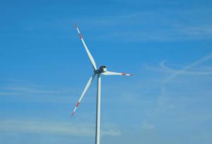hélice de energia eólica