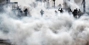 gas lacrimogêneo