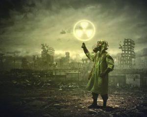 nuvem radioativa
